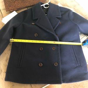 J. Crew Jackets & Coats - Jcrew navy pea coat. Size 2. Worn once
